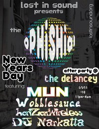 Phish new years day after party feat mun and wobblesauce