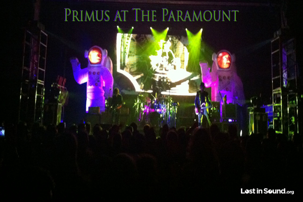 Primus At The Paramount In New York 5 19 12