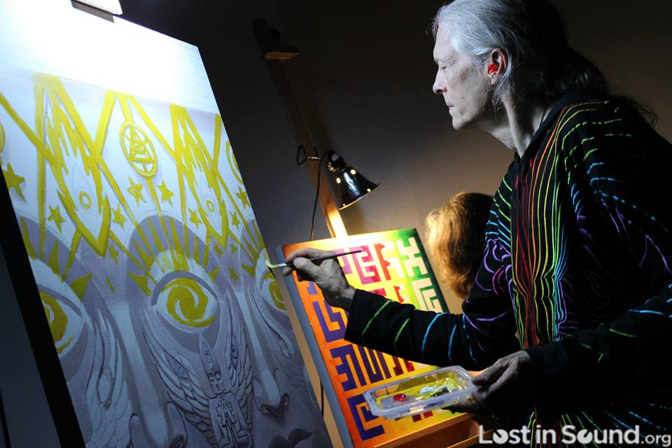 Alex Grey at Entheon