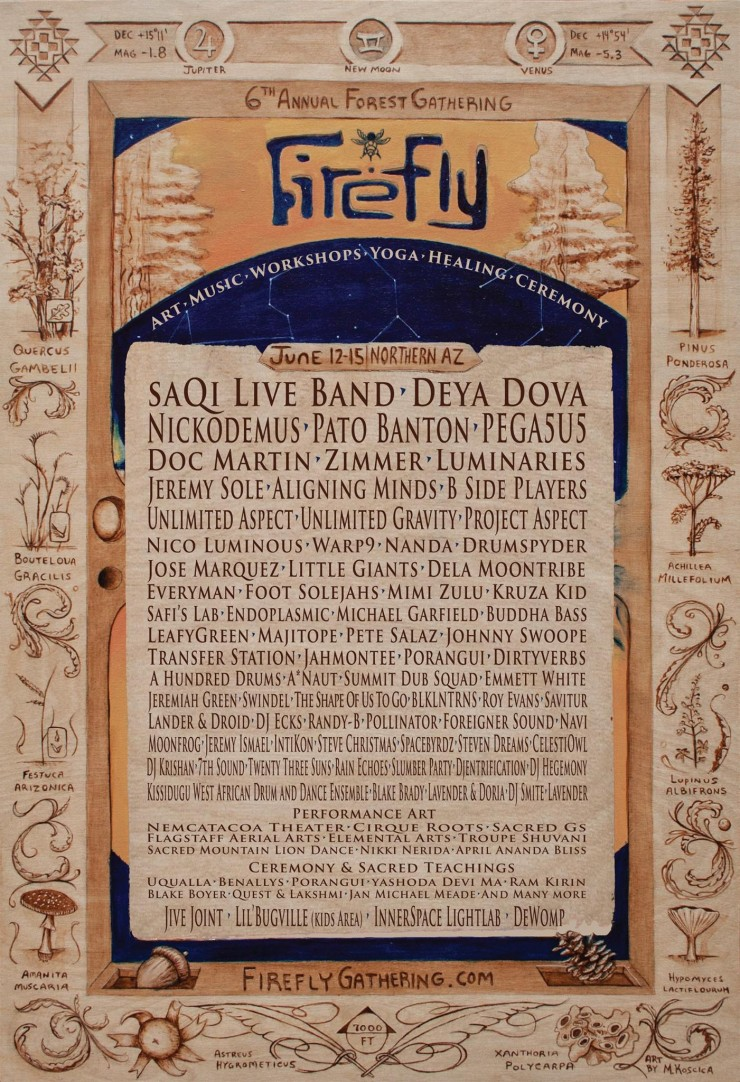 Firefly Gathering 2015 Lineup