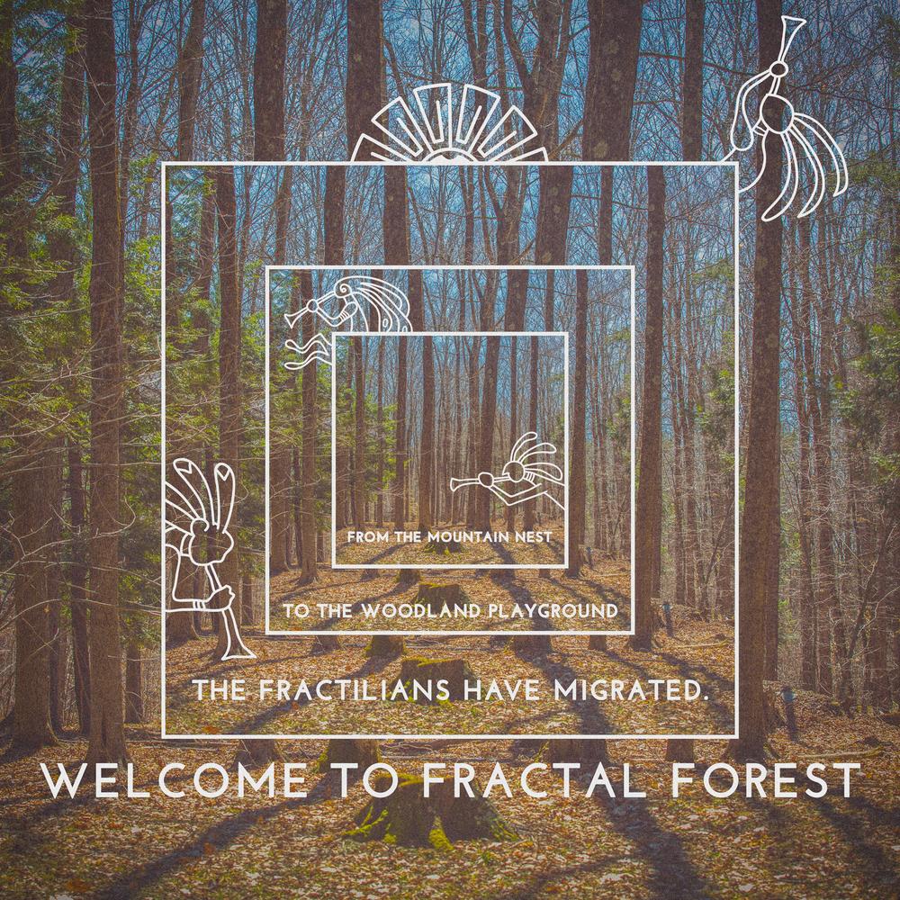 Fractal Forest Art
