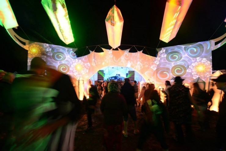 Spectrum Stage at Motion Notion Festival