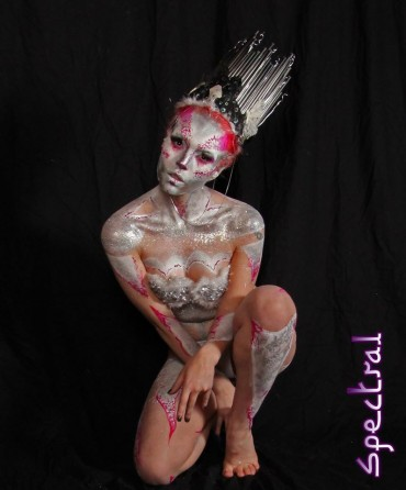 Spectral Body Painting