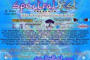 Spectral Fest 2015 Preview [July 17-19 : Croydon, NH]
