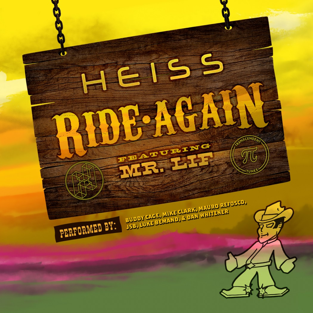 HEISS - Ride Again feat. Mr. Lif Cover Art