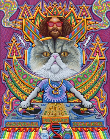 Charlie The Catnip Killer- commission for The Gaslamp Killer