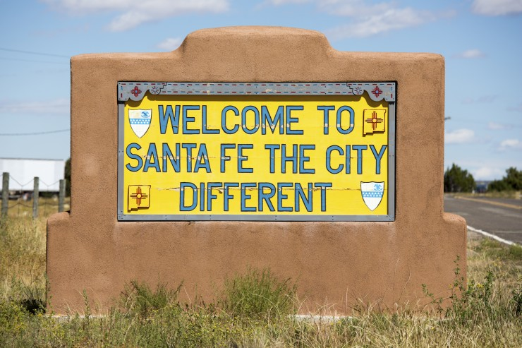 Santa Fe New Mexico Southwest USA
